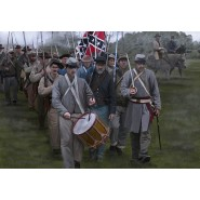 Confederates on the March Gettysburg
