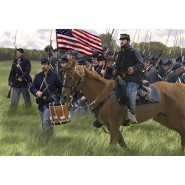 US Union Infantry on the March