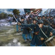 US Union Infantry in Attack