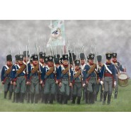 Prussian Infantry on the March (Napoleonic)