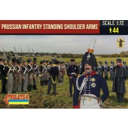 Prussian Infantry Standing Shoulder Arms Napoleonic