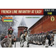 French Line Infantry at Ease in Winter Dress (Flanking Companies) Napoleonic