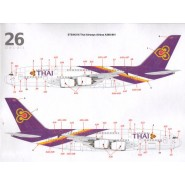 THAI Airways Airbus A380-841