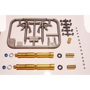 Ducati 1199 Panigale S Front Fork Set (designed to be used with Tamiya kits)