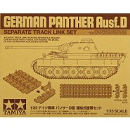 Pz.Kpfw.V Panther Ausf.D (Sd.Kfz.171) Separate Track Link Set (designed to be used with Tamiya kits)