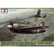 Brewster B-339 Buffalo with decals for for RAF, Dutch and USN