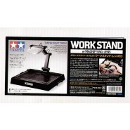 Workstand with magnifying lens