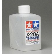 X-20A Acrylic Thinner (250 ml)