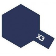 X-3  ROYAL BLUE (ACRYLIC PAINT - BOTTLE 10ml)