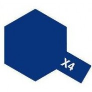 X-4 BLUE (ACRYLIC PAINT - BOTTLE 10ml)