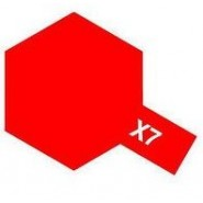 X-7 RED (ACRYLIC PAINT - BOTTLE 23ml)