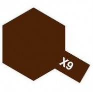 X-9 BROWN (ACRYLIC PAINT - BOTTLE 10ml)