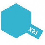 X-23 CLEAR BLUE (ACRYLIC PAINT - BOTTLE 23ml)
