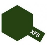 XF-5 FLAT GREEN (ACRYLIC PAINT - BOTTLE 23ml)