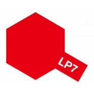 LP-7 PURE RED (LACQUER PAINT 10ML)
