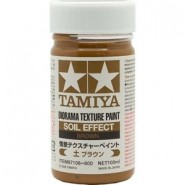 Diorama Texture Paint 100ml - Soil Effect: Brown