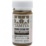 Diorama Texture Paint 100ml - Soil Effect: Dark Earth