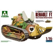 Renault FT-17 Char with Girod Turret & 37mm Canon