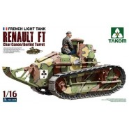 French Light Tank Renault FT Char Canon/Berliet Turret