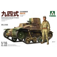 Imperial Japanese Army Type 94 Tankette Includes figure