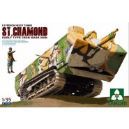 French Heavy Tank St.Chamond Early Type/Iron Mask Man