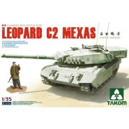 Leopard C2 MEXAS Canadian MBT with workable track & 1 figure included