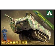 St.Chamond (Late Type) WWI French Heavy Tank