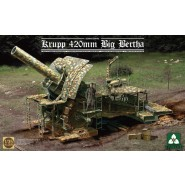 Krupp 420mm 'Big Bertha' German Empire Siege Howitzer