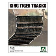 Pz.Kpfw.VI King Tiger Tracks (designed to be used with Takom kits)