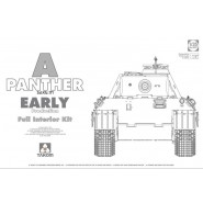 SdKfz 171 Panther A Early with interior