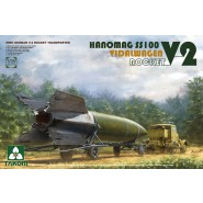 V-2 Rocket Vidalwagen Hanomag SS100 (V-2 Rocket Transporter) V-2 included