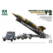 V-2 rocket + Meillerwagen transport + Hanomag SS-100. Launcher included