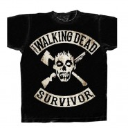 The Walking Dead The Survivor T-Shirt Black (Size: XL)