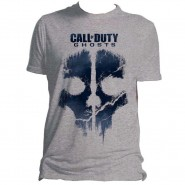 Call of Duty Ghosts - Skull Art T-Shirt - Grey (Size: XXL)