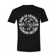 Sons of Anarchy - Moto Club T-Shirt - Black (SIZE: S)