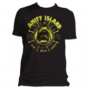 Jaws - Amity Island T-shirt - Black (Size: XL)