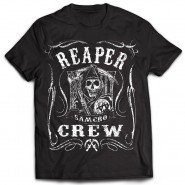Sons of Anarchy - Reaper Crew Scroll T-Shirt - Black (SIZE: S)
