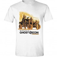 Ghost Recon: Wildlands - Ghosts T-Shirt - White (SIZE: S)