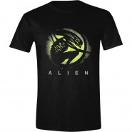 Alien - Covenant Green Shadow T-Shirt Black (Size: S)