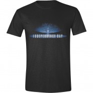 Independence Day - Logo T-Shirt - Black (Size: L)