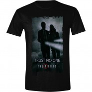 X-Files - Trust No One T-Shirt - Black (SIZE: S)