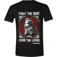 The Walking Dead - Daryl Dixon Fight Poster T-Shirt - Black (SIZE:L)