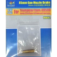 85mm Gun Muzzle Brake (designed to be used with Trumpeter TU09536 kits)