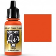 Fluorescent Red (cor para F.A.P.) (17ml)