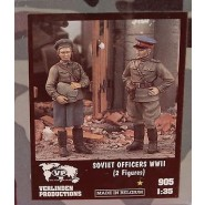 Soviet Female & Male Officers WWII (Resin)