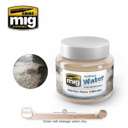 ACRYLIC WATER FOR DIORAMAS - WILD RIVER WATER (250ml)