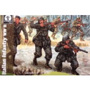 Italian Infantry WWII. (a mixture of AP034 and AP040)