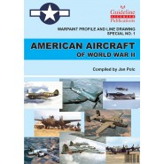 Warpaint Profile & Line Drawings no 1 - American Aircraft of WWII. 100 pages Perfect bound