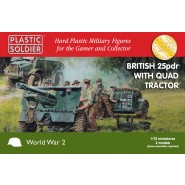 British 25pdr with Morris Quad Tractor