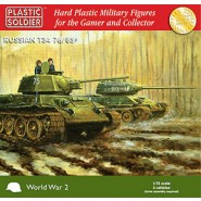 Soviet T-34 76/85 Easy Assembly plastic injection moulded